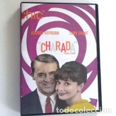 Cine: CHARADA DVD PELÍCULA SUSPENSE - AUDREY HEPBURN CARY GRANT STANLEY DONEN MATTHAU COBURN KENNEDY PARÍS. Lote 131089848