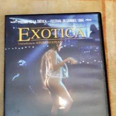 Cine: DVD EXÓTICA- ATOM EGOYAN. Lote 131155220