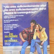 Cine: DVD DE HOMBRE A HOMBRE - NUEVA, PRECINTADA (DL). Lote 131163884