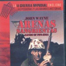 Cine: ARENAS SANGRIENTAS (1949) JOHN WAYNE, JOHN AGAR. Lote 131187656