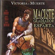 Cine: MACISTE GLADIADOR DE ESPARTA MARK FORREST. Lote 131242707
