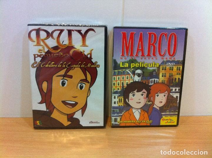 lote de 2 películas dvd: ruy el pequeño cid - m - Comprar Películas ...