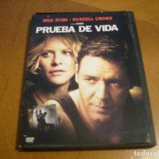 Cine: PRUEBA DE VIDA ( DVD ) . Lote 131321374