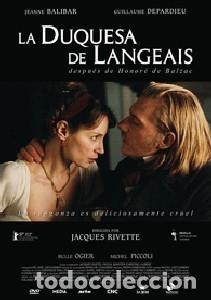 LA DUQUESA DE LANGEAIS DIRECTOR: JACQUES RIVETTE ACTORES: JEANNE BALIBAR, GUILLAUME DEPARDIEU (Cine - Películas - DVD)