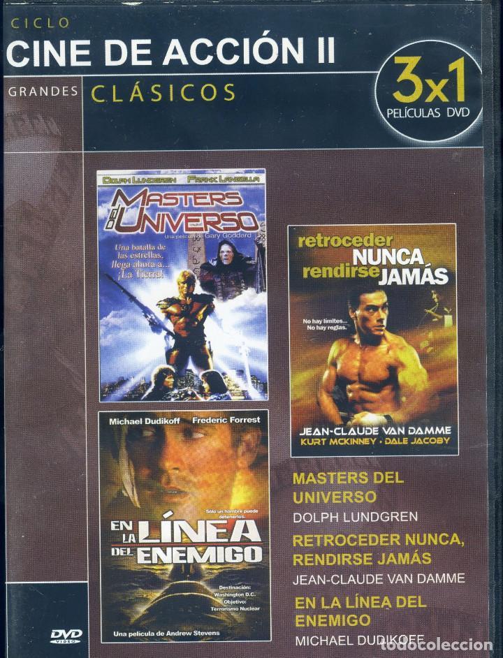 GRANDES DE ACCION II (Cine - Películas - DVD)
