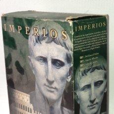 Cine: IMPERIOS ·· ROMA ·· EL IMPERIO ROMANO EN EL SIGLO PRIMERO ·· 4 DVD´S ··. Lote 131493666