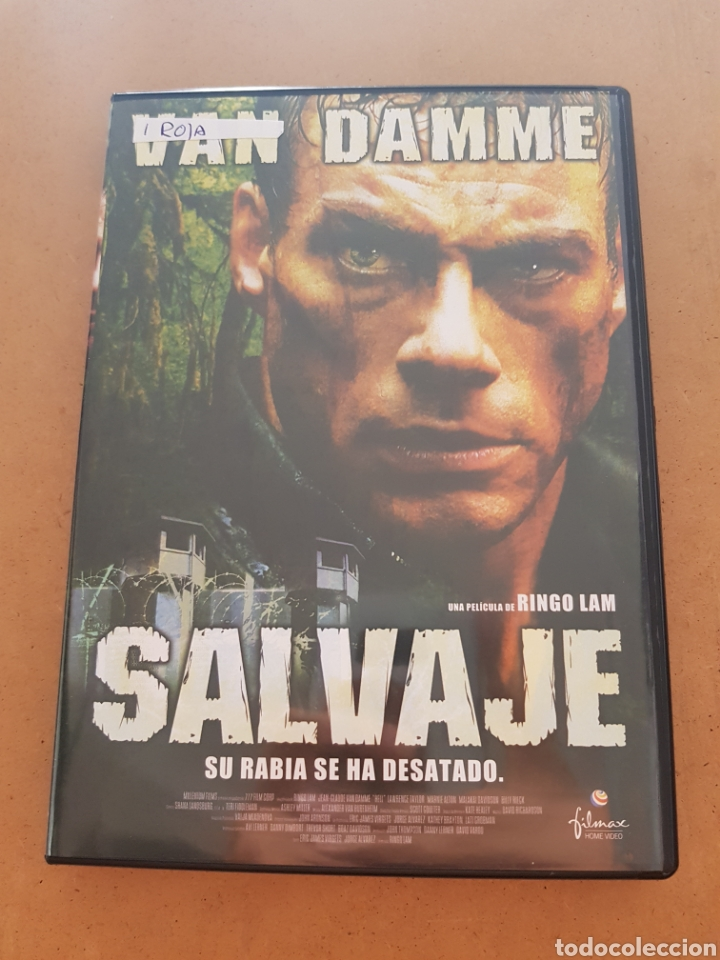 S 70 Salvaje Jean Claude Van Damme Dvd Se Sold Through Direct Sale 131546221