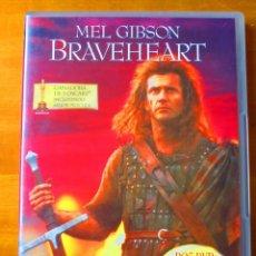 Cine: BRAVEHEART (EDICION 2 DISCOS REMASTERIZADA) DVD. Lote 131568018