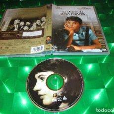 Cine: EL DIARIO DE ANA FRANK - DVD - EDICION F5-SES 0107409 - MILLIE PERKINS - JOSEPH SCHILDKRAUT. Lote 180164947