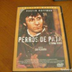 Cine: PERROS DE PAJA ( DVD ). Lote 131594978