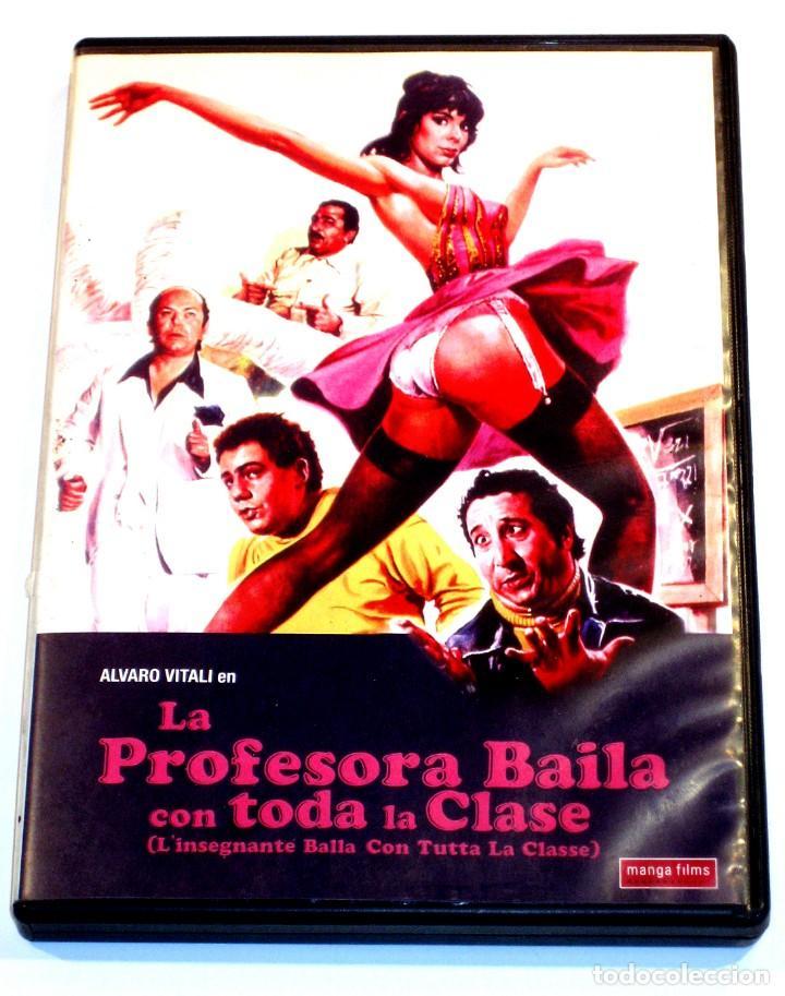 LA PROFESORA BAILA CON TODA LA CLASE - G. CARNIMEO NADIA CASSINI LINO BANFI ALVARO VITALI DVD DESCAT (Cine - Películas - DVD)