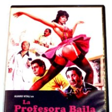 Cine: LA PROFESORA BAILA CON TODA LA CLASE - G. CARNIMEO NADIA CASSINI LINO BANFI ALVARO VITALI DVD DESCAT. Lote 131664390