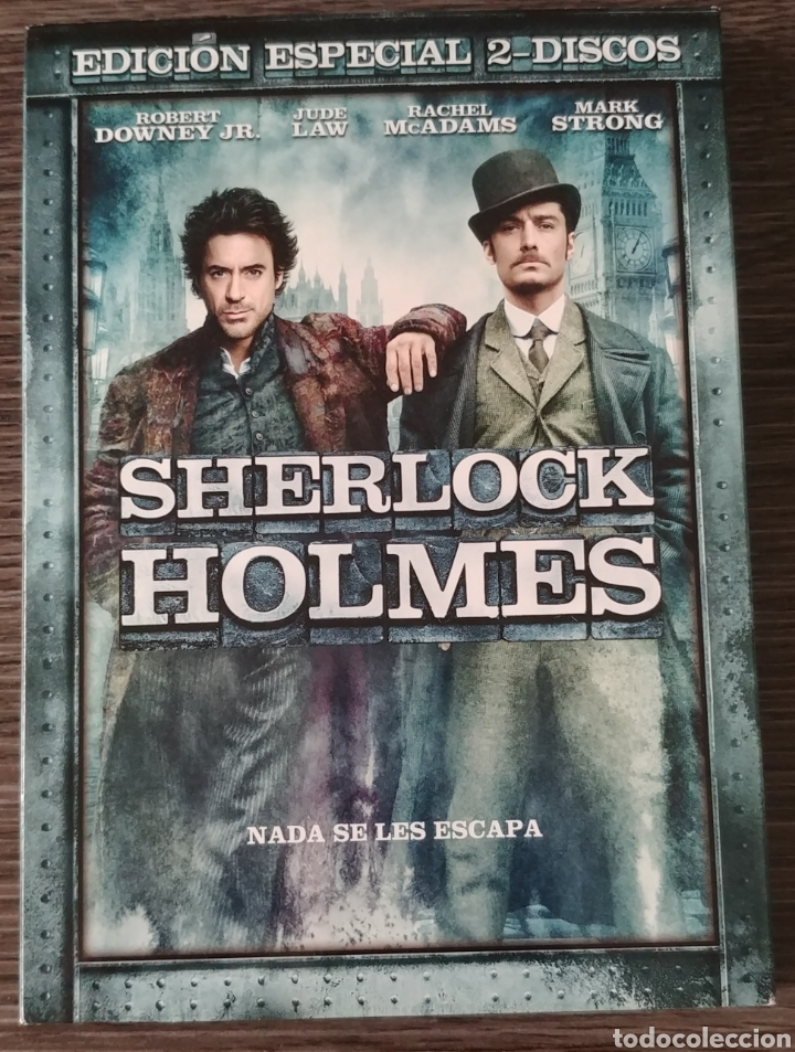 SHERLOCK HOLMES EDICIÓN ESPECIAL 2 DISCOS (Cine - Películas - DVD)
