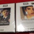 Cine: LOTE 2 DVD. LA LENGUA DE LAS MARIPOSAS Y SECRETOS DEL CORAZÓN.. Lote 131756031