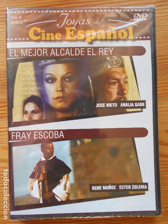 DVD EL MEJOR ALCALDE EL REY / FRAY ESCOBA - JOYAS DEL CINE ESPAÑOL - NUEVA, PRECINTADA (9Z) (Cine - Películas - DVD)