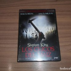 Cine: LOS CHICOS DEL MAIZ EDICION ESPECIAL COLECCIONISTAS 2 DVD DE STEPHEN KING TERROR NUEVA PRECINTADA. Lote 295744608