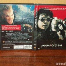 Cinéma: JOVENES OCULTOS - DIRIGIDA POR JOEL SCHUMACHER - DVD. Lote 132097186