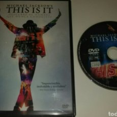 Cine: MICHAEL JACKSON THIS IS IT. Lote 132100283