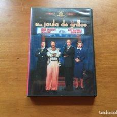 Cine: DVD - UNA JAULA DE GRILLOS. Lote 174531583