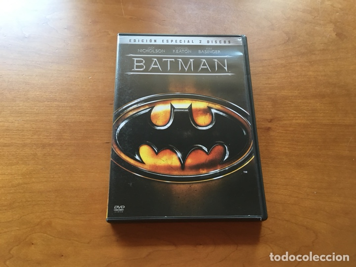 DVD - BATMAN 1989 MICHAEL KEATON (EDICIÓN ESPECIAL 2 DISCOS) (Cine - Películas - DVD)