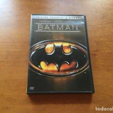 Cine: DVD - BATMAN 1989 MICHAEL KEATON (EDICIÓN ESPECIAL 2 DISCOS). Lote 132124157