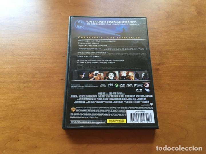 Cine: DVD - Batman 1989 Michael Keaton (Edición Especial 2 Discos) - Foto 2 - 132124157