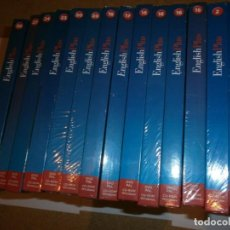 Cine: INGLES BBC 14 TOMOS LIBROS Y DVD. Lote 132162418