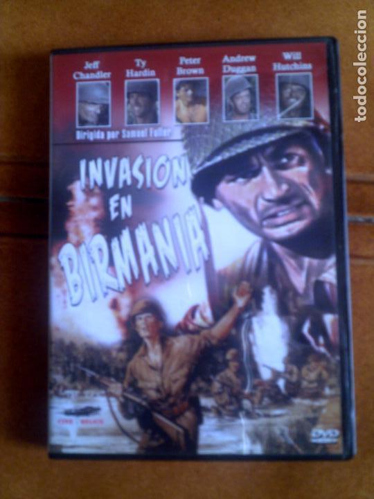 DVD PELICULA INVASION EN BIRMANIA (Cine - Películas - DVD)