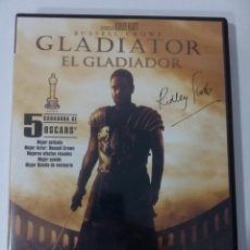 Cine: GLADIATOR -DVD-. Lote 132256582