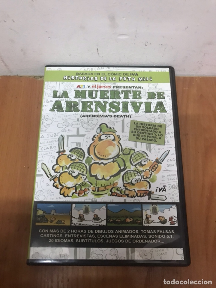 HISTORIAS DE LA PUTA MILI - LA MUERTE DE ARENSIVIA - DVD EL JUEVES (Cine - Películas - DVD)