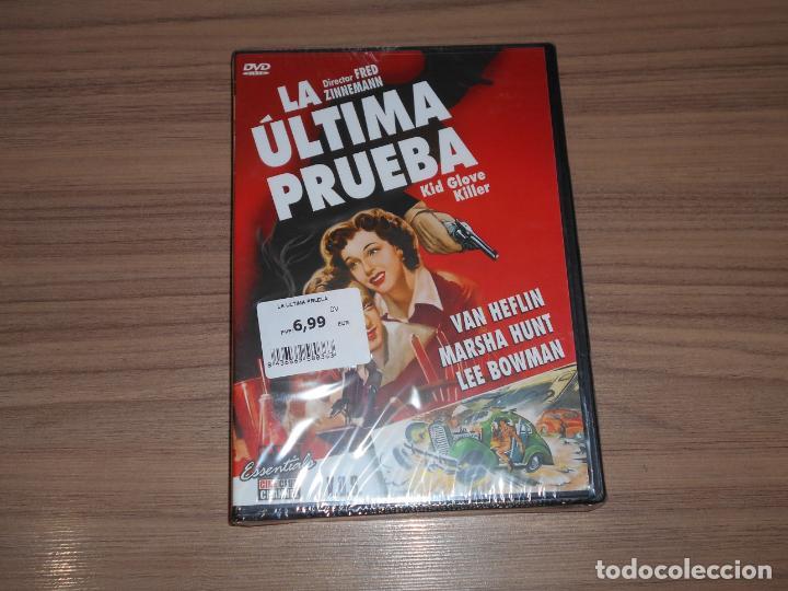 LA ULTIMA PRUEBA DVD DE FRED ZINNEMANN VAN HEFLIN AVA GARDNER NUEVA PRECINTADA (Cine - Películas - DVD)