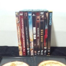 Cine: LOTE DE 10 TÍTULOS DE PELÍCULAS DVD.. Lote 132578334