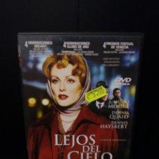 Cine: LEJOS DEL CIELO DVD. Lote 132580162