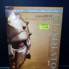 Cine: GLADIATOR DVD. Lote 132581427