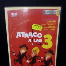 Cine: ATRACO A LAS 3 DVD. Lote 132583350