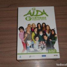 Cine: AIDA TEMPORADA 6 PARTE 2 5 DVD 780 MIN. NUEVA PRECINTADA. Lote 235174535
