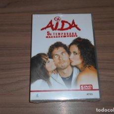 Cine: AIDA TEMPORADA 5 PARTE 2 5 DVD 910 MIN. NUEVA PRECINTADA. Lote 186242468