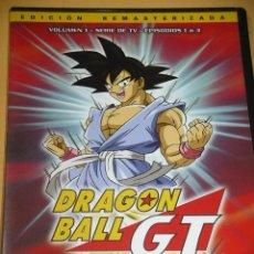 Cine: DRAGON BALL GT, EPISODIOS 1 2 Y 3, ANIME, ANIMACION, DVD ERCOM D9. Lote 132687070