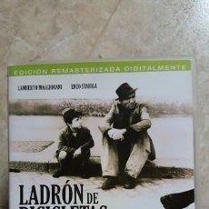 Cine: EL LADRON DE BICICLETAS EDICION 2 DISCOS DVD VITTORIO DE SICA LAMBERTO MAGGIORANI ENZO STAIOLA. Lote 132754390