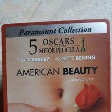 Cine: AMERICAN BEAUTY DVD EDICION CAJA METALICA STEELBOOK SAM MENDES KEVIN SPACEY ANNETTE BENING. Lote 132758422