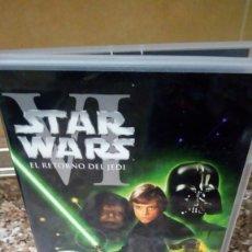 Cine: DVD STAR WARS EL RETORNO DEL JEDI. Lote 132959262