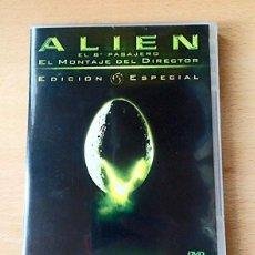 Cine: DVD - ALIEN EL 8º PASAJERO - EL MONTAJE DEL DIRECTOR - 2 DISCOS. Lote 133043942