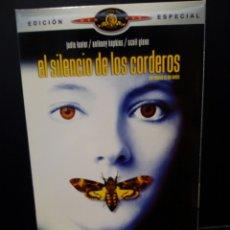 Cine: EL SILENCIO DE LOS CORDEROS DVD. Lote 133092962