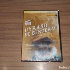 Cine: CYRANO DE BERGERAC EDICION ESPECIAL COLECCIONISTAS ORIGENES DEL CINE DVD NUEVA PRECINTADA. Lote 179946923