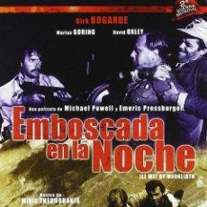 Cine: EMBOSCADA EN LA NOCHE - MICHAEL POWELL Y EMERIC PRESSBURGER. Lote 133175378