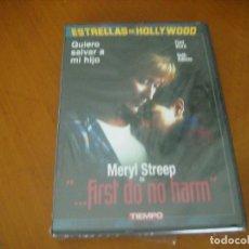 Cine: FIRST DO NO HARM ( DVD ) . Lote 133186978