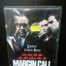 Cine: MARGIN CALL DVD. Lote 133233142