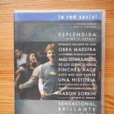Cine: DVD LA RED SOCIAL - EDICION 2 DISCOS (EK). Lote 133242990