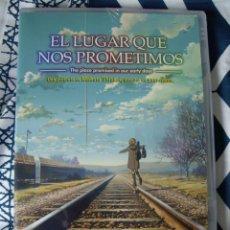 Cine: DVD - ANIME - EL LUGAR QUE NOS PROMETIMOS - MAKOTO SHINKAI, YOUR NAME - NUEVO. Lote 133445242