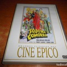 Cine: SODOMA Y GOMORRA DVD 2005 ESPAÑA GRANDES CLASICOS DEL CINE EPICO STEWART GRANGER STANLEY BAKER. Lote 133469870